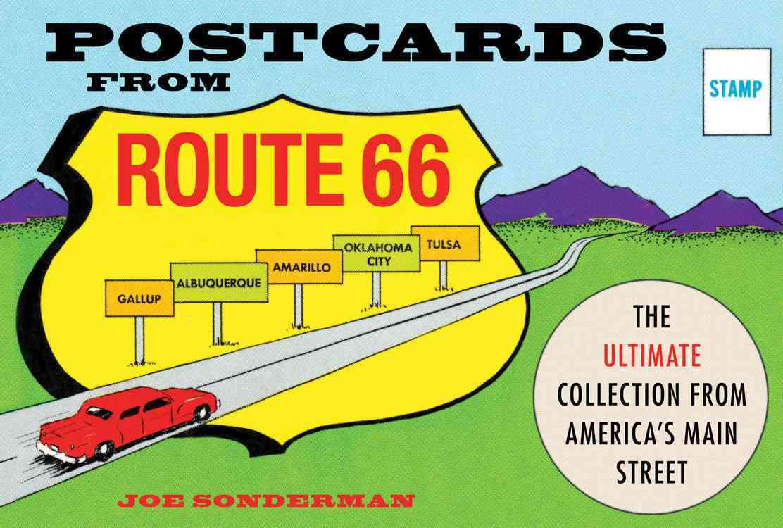 Postcards from Route 66 By Sonderman, Joe